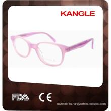 2017 cellulose acetate fancy kids eyeglass frames