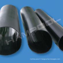 Tube thermorétractable HP-MWTA (HR) Gaine thermorétractable à paroi moyenne avec colle thermorésistante Gaine thermorétractable