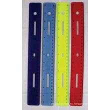 JML 12 IN Regla de plástico Soft Touch Ruler