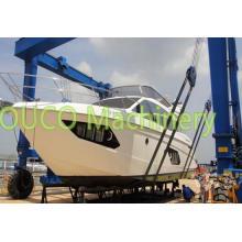 Grúa de elevación del viaje del barco del pescante del yate marino