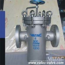 Vatac Cast Steel Wcb/Lcb/Wc9/CF8/CF8m/Ss304/Ss316 Basket Strainer