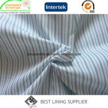 Men′s костюм с длинным рукавом накладки Пряжа окрашенная полосатый полиэстер подкладка