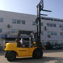 Caminhão do elevador da forquilha de 7 toneladas com CE