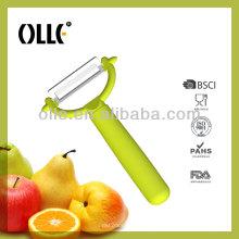 PE07 Fresh Green Handle Ceramic Fruit Tool