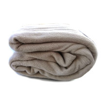 Tache Solid Beige 80 X 90 Bulk Hospitality Thermal Layer Bed Blanket Set of 4