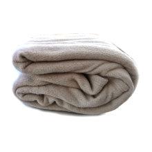 "Tache Beige 80"" X 90"" Hospitality Hotel Bed Blanket"