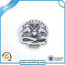 Серебристая Мини-Дизайн Специальный Логотип Значок Металла Подарка Промотирования