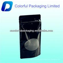 sacos de empacotamento do café do standup com ziplock, reforço inferior