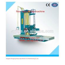 Tipo de piso de alta precisão fresadora e máquina de perfuração preço à venda