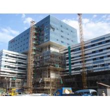 Außenverkleidung Aluminium Glaswand für Bürogebäude