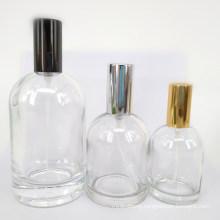 Spot Supply Perfume Bottle 30ml50ml100ml Bayonet Glass Perfume Bottle Creative Cylindrical Spray Bottle