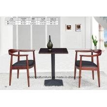 Massivholz Esstisch und Stuhl für Zuhause