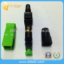 Fiber Optic Singlemode SC / APC Schnellanschluss