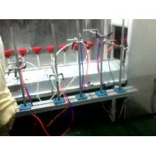Plastic parts paint line machine