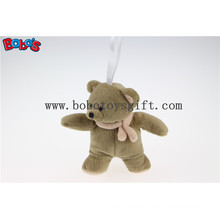 """5.1""""Standing Style Small Size Stuffed Baby Toy Teddy Bear with Scarf Bos1099"""