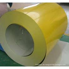 Gelbe Farbe Stahl Spule für den Aufbau von Dach (SC-003)