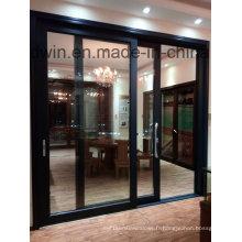 Guangdong Woodwin Hot Seller Double porte trempé en aluminium trempé en aluminium (YS-100A)