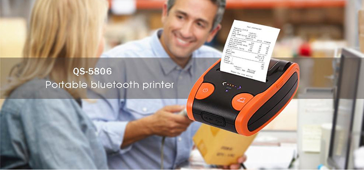 QS-5806 Mobile printer