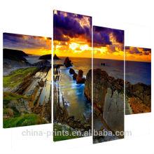 Großhandels-Sonnenuntergang-Landschaft Leinwanddrucke