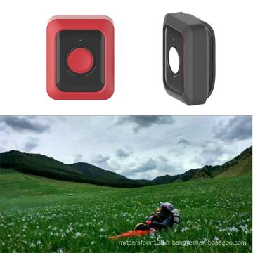 Traqueur personnel Mini GPS 4G avec bouton SOS