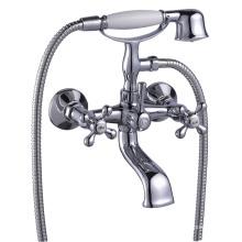 Латунный смеситель для ванной комнаты набор для душа