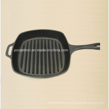 Preseasoned Gusseisen Frypan Größe 26X26cm