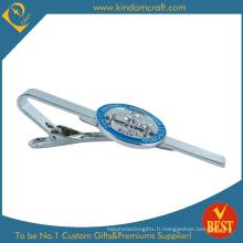 Barre de cravate à cravate métallique personnalisée Fabricant