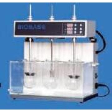 Tres tazas del probador de la disolución de la droga, probador farmacológico de la disolución