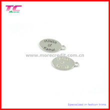 Oval Metal Tags for Jewelry