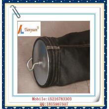 Bolso de filtro de aire de fibra de vidrio no alquitrán E-PTFE de carbono negro