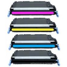 Cartucho de tóner láser de color para HP Q7560A Q7561A Q7562A Q7563A