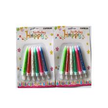 Спиральные свечи на день рождения Multi Pack Cake восковые свечи