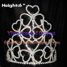 Оптовая Crystal Shamrock короны