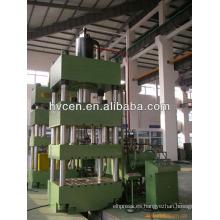 Máquina de prensa hidráulica de doble acción para inodoro inoxidable