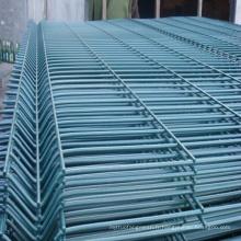 Panneau en maille soudée en PVC pour clôtures