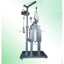 Hastelloy C276 Pilot Scale Reactor With Condensor Port From China