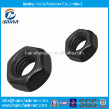 China Supplier High Stength Black Finished Nuts