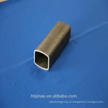 Espessura de parede sem costura espessura 1-12mm tubo de aço retangular