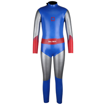 Traje de neopreno Seaskin Junior 3 / 2MM Triathlon Back Zip