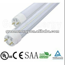 t8 led tube 600mm, SMD3014 LEDs LED Tube T8, TUV SAA Standard, milky cover, with one-end power input