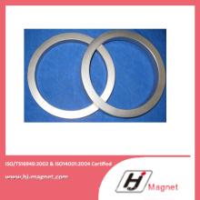 Forma personalizada Motor magnético neodímio anel permanente ímã