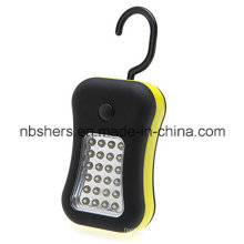 28 LED de lumière de travail Torch Magnetic Backside Hanging Hook