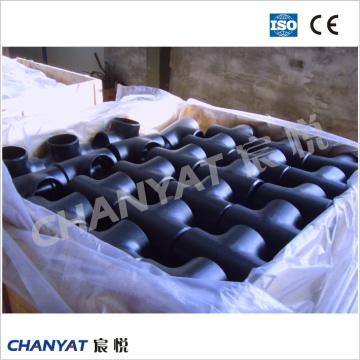 T de encaixe de tubulação de aço inoxidável En / DIN 1,4539, X2nicrmocu25-20-5
