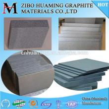 Placa de grafito duradera con alta resistencia y resistencia a la corrosión