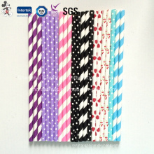 Colorful Paper Straws for Party Decoration