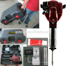 1700w 2.4HP 52cc Gasolina Jack Hammer Dispensador de carretera de gas de mano Powered