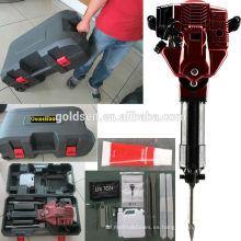 1700w 2.4HP 52cc Gasolina Jack Hammer Dispensador de carretera de gas de mano Powered
