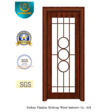 Puerta de acero estilo chino para cocina o estudio (s-1025)