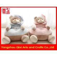 Fábrica de Yangzhou suave sofá de bebé sillas de peluche lindo oso de peluche sofá suave niños sofá