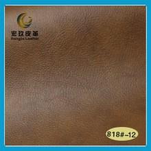 Cuero sintético suave para el sofá con alta calidad (Hongjiu-818 #)